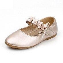 2019 Fashion Children Girls Princess Shoes Flower Sandals Kids Designer Single Summer New School