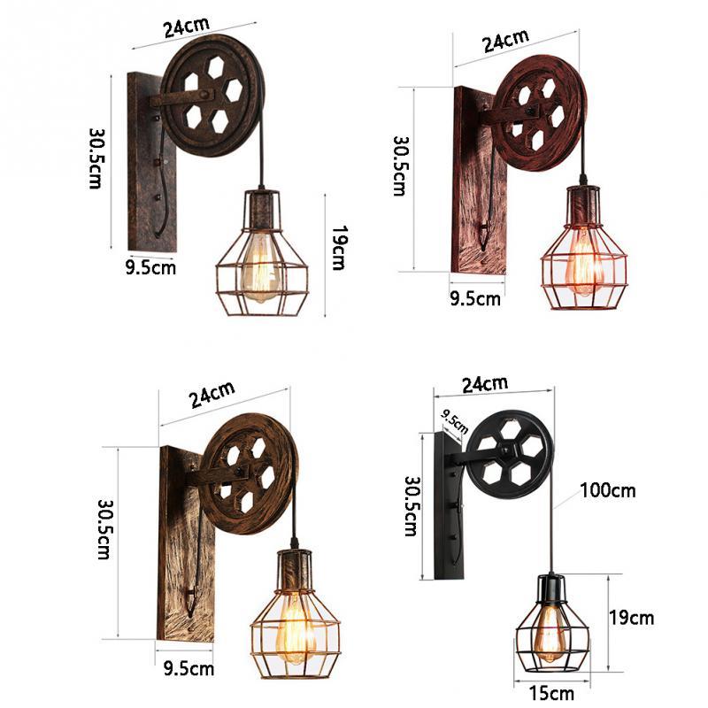 lampada de parede polia levantamento casa corredor 02