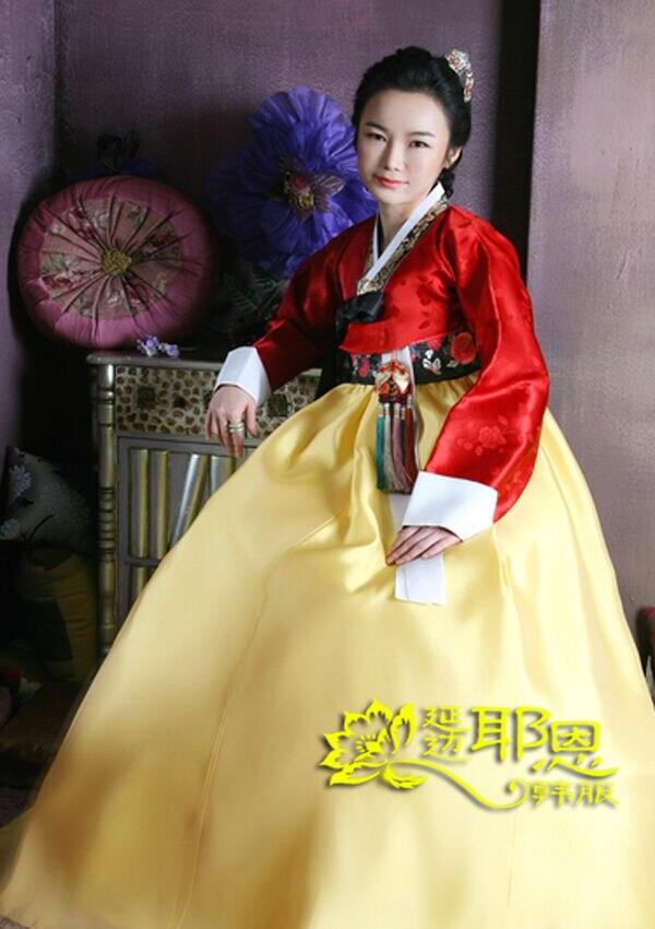 Women Hanbok Dress Custom Made Korean Traditional Hanbok High Waist Hanbok