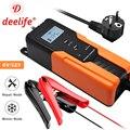 Deelife 6 в 12 В Автомобильное зарядное устройство 12 В 6 вольт 4A умный импульсный ремонт электрическая струйка Зарядка для влажной сухой AGM гель с...