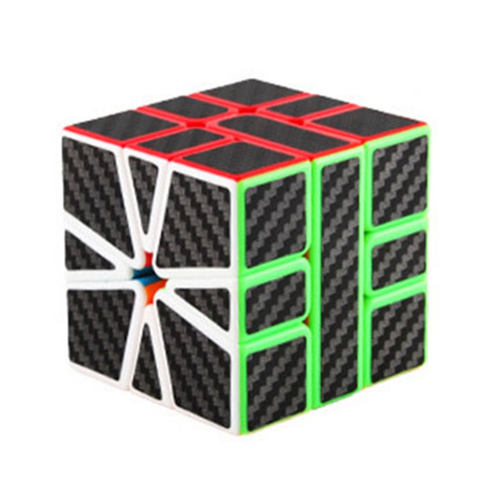 Demon Carbon Fiber Magic Cube Second-order Three/four/five Order Magic Cube Set Educational Children's Toys