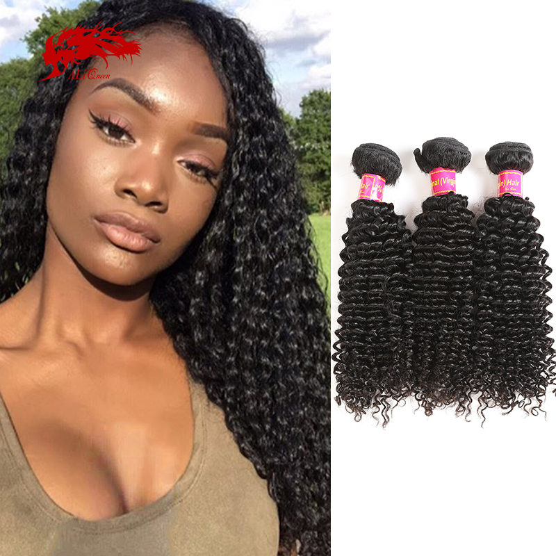 Ali Queen монгольские натуральные человеческие волосы для наращивания, естественный цвет, дюймы