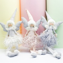 Get more info on the 2020 Christmas Tree Hanging Ornament Angel Doll Christmas Decoration Pendant Christmas Decoration For HomeCM