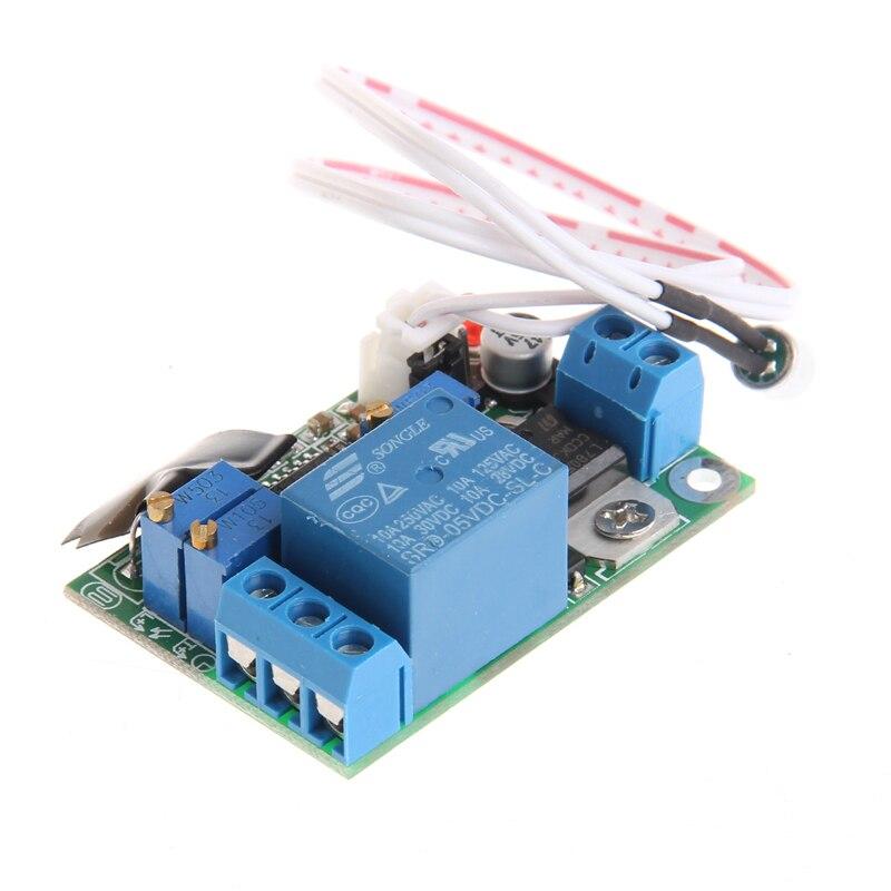 Управление светом звуком модуль реле датчик задержки регулируемый