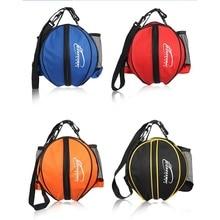 Multipurpose Basketball Bag Volleyball Soccer Adjustable Shoulder Strap Bags Portable Crossbody Round Shape Ball Durable