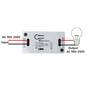 Image 3 - QIACHIP Wifi ワイヤレスウォールライト 433 433mhz の Rf リモコン受信 Led ランプスイッチ Amazon で動作 alexa DIY