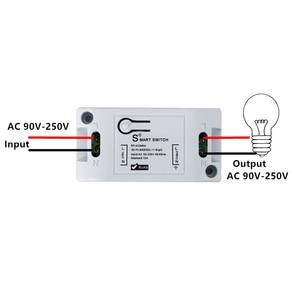 Image 3 - QIACHIP Wifi Wireless Wall Light Switch Smart Home 433Mhz RF Remote Control Receiver Led Lamp Switch Work With Amazon Alexa DIY
