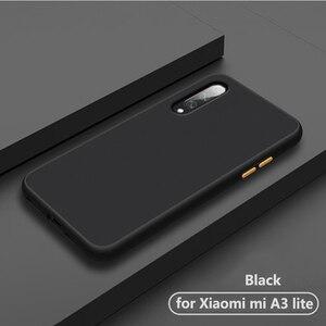 Роскошный ударопрочный матовый прозрачный чехол на заднюю панель телефона. Чехол для xiaomi mi a3 lite a 3 a3lite mi a3 для xao mi силиконовый