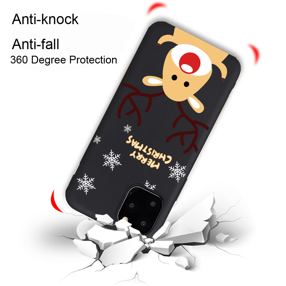 Christmas New Year Cute Phone Case For iPhone 12 Mini