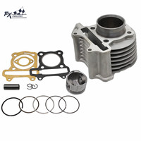 50mm Big Bore Cylinder Kit Piston Ring For 100cc GY6 Chinese Scooter ATV Moped 139QMB 139QMA Engine
