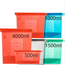 Storage bags,Food-safe silicone food…
