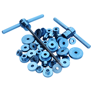 Image 3 - 1 Set of Bearing Installation Tool  Bottom Bracket Hub Bike Axis Removal Installation aluminum alloy Kit Set