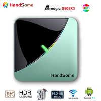 iptv A95X F3 Air 8K RGB Light TV Box Android 9.0 Amlogic S905X3 4GB 64GB Dual Wifi 4K 60fps Netflix Youtube Smart TV A95X Airxxx