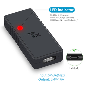 Image 4 - USB Charger type c Cable mavic Battery Charger QC3.0 Fast Charging for dji mavic mini drone Accessories