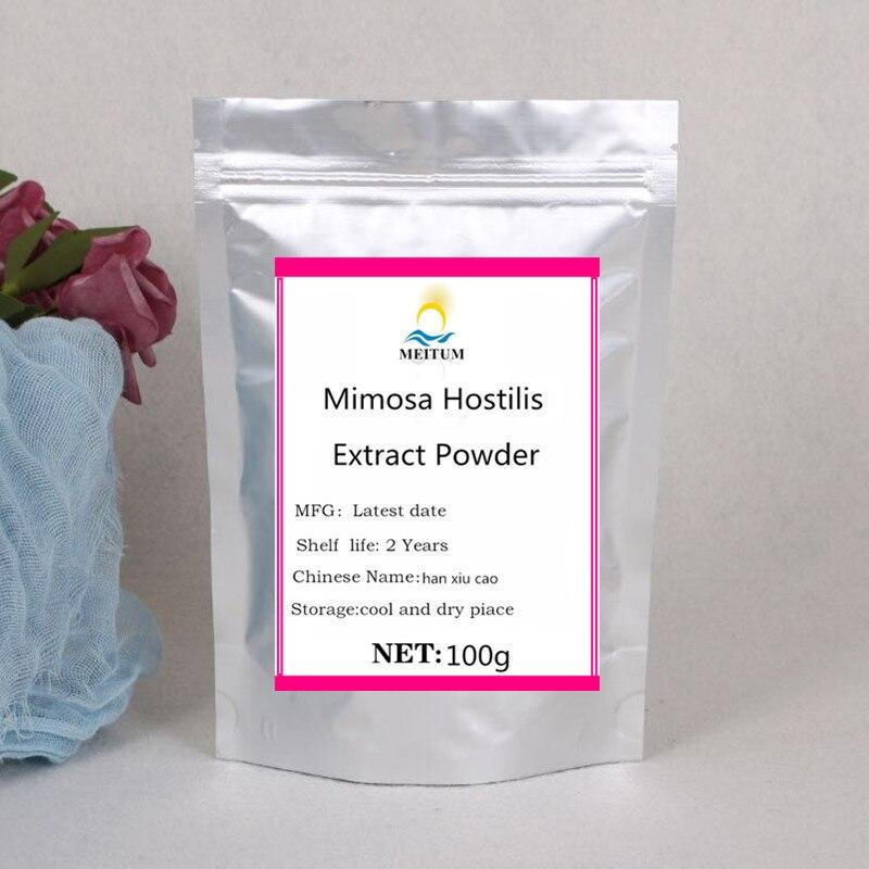 100 г-1000 г, горячая Распродажа, качественный экстракт дерева мимозы Hostilis, порошок, han xiu cao, бесплатная доставка