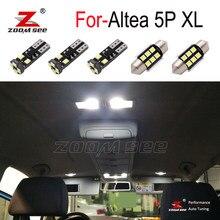 11 шт. светодиодных ламп для багажника светодиодный светодиодные внутренние купольные лампы для чтения + комплект светодиодных ламп для зер...