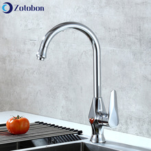 Taps Faucet Mixer Deck-Mounted Kitchen-Accessories Cold Hot-Water ZOTOBON And M213 Rotating