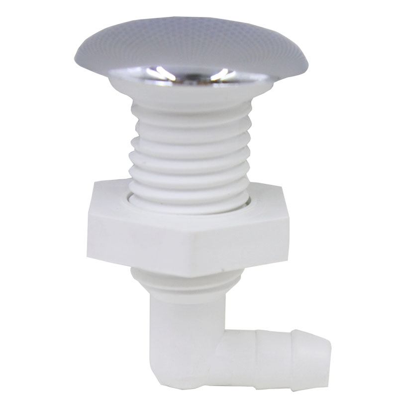 7 Twisted Teeth Bow Bubble Nozzle,Chromed Surface, Air Jet Of Pvc Base,hot Tub Massage Bathtub Accessories