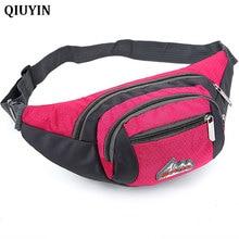 QIUYIN Waist Packs Fashion Nylon Bags for Children Letter Print Funny Pack Mini Kids Girls Shoulder Chest Money Belt