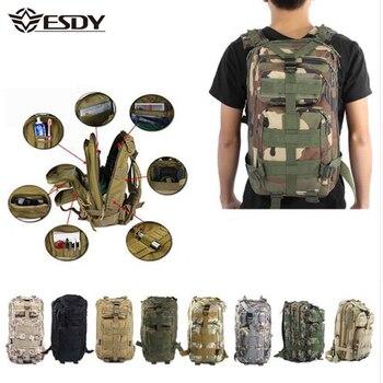 Mannen Militaire Tactische Rugzak 30L Camouflage Outdoor Sport Wandelen Camping Jacht Tassen Vrouwen Reizen Trekking Rugzakken Bag-in Klimtassen van sport & Entertainment op