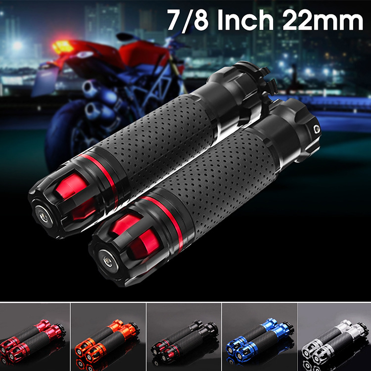 WINTUWAY 22mm CNC Motorcycle Handlebar Refit Throttle Aluminum Alloy Rotatable Hollow Accessories