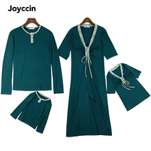Joyccin High Quality Family Matching Outfits Girl s Dress Children s clothing Family Look Long Sleeve