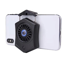 Holder Quick Heat Dissipation Stretchable Mini Fan Anti Slip Mobile Phone Cooler Removable Fixed Gamepad Stand Easy Install