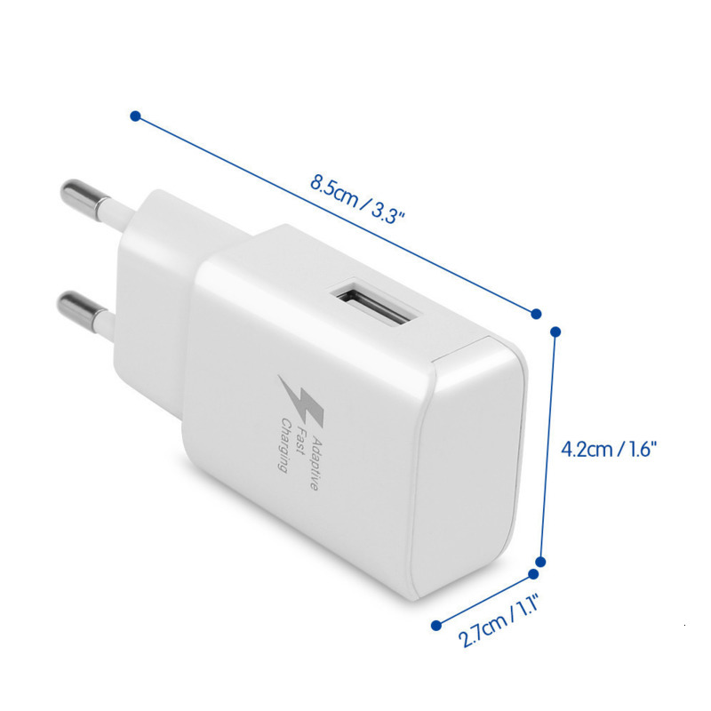 Image 4 - Fast Charge 5V 2A USB Charger Travel Charger Wall Adapter Mobile Phone Charger for Samsung Huawei Xiaomi Fast Charging-in Mobile Phone Chargers from Cellphones & Telecommunications