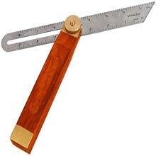 Adjustable Woodworking Square Bevel Gauge Sliding T-shaped Bevel 30cm Blade Ruler for Craftsman's Bevel Tool Carpenter Architect