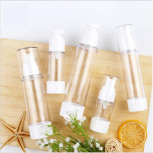 Transparent Empty Spray Bottles 15ml/30ml/50ml/80ml/100ml Plastic Mini Refillable Container Empty Cosmetic Containers(China)