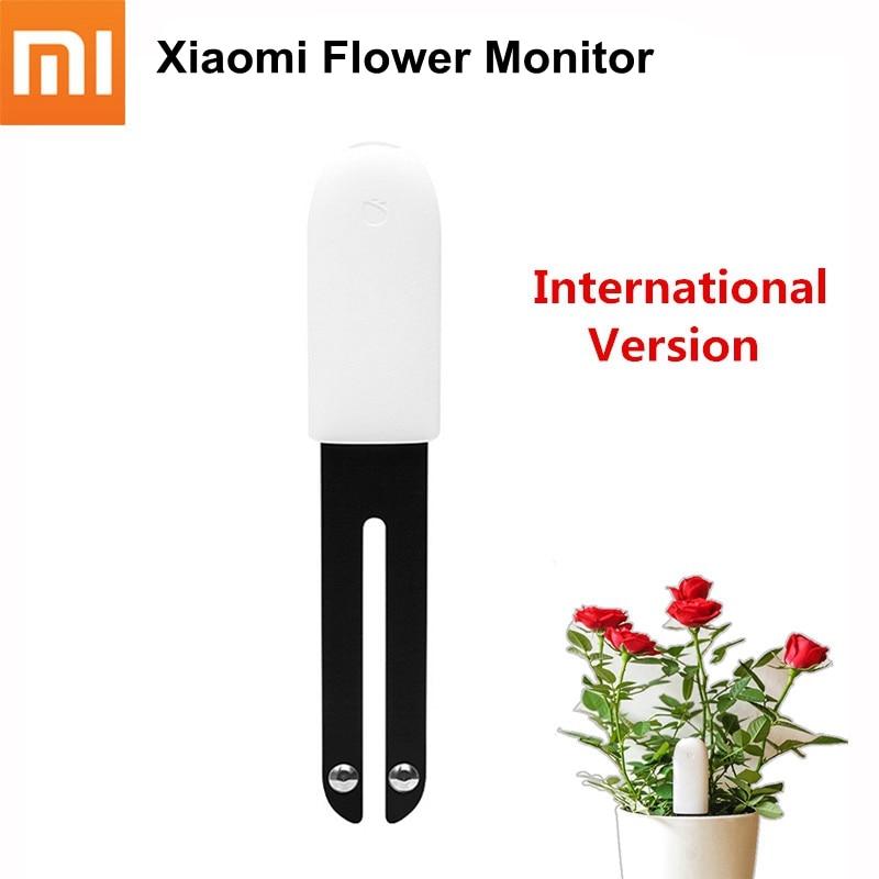 Global Version Xiaomi Mi Flower Monitor Digital Plants Grass Flora Sensor Care Soil Water Light Smart Tester International HHCC