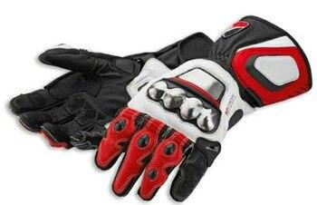 Free shipping High Qaulity Motocross MX Dirt Bike Leather Titanium Gloves Dain Full Metal RS Corse Glove