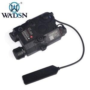 Image 2 - WADSN Airsoft PEQ 15 LA5CยุทธวิธีPEQ 15 UHPสีเขียว/Red Dotเลเซอร์ไม่มีIRไฟฉายZero Reset Hunting WeaponไฟWEX453