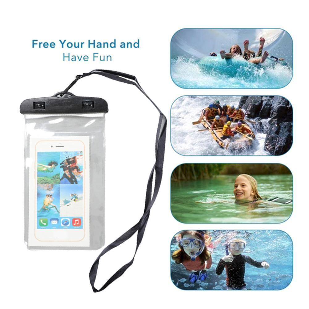 Outdoor Waterproof Pouch Swimming Beach Dry Bag Case Cover Holder For Cell Phone Swimming Waterproof Bag