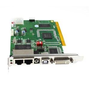 Image 5 - Linsn DS802d synchroniczna karta wysyłająca led kontroler wideo działa z rv908m32 karta odbiorcza do kontrolera ściana wideo led