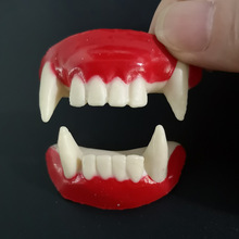 Vampire Teeth  Cosplay Dentures Props Halloween Party Zombie Devil Tooth Decoration