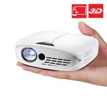 3D Dlp Mini Projector Optioneel Hd Wifi Android 7.1 Pocket Pico Led Projector 4K Batterij Ondersteuning 1080P Telefoon usb Beamer Proyector