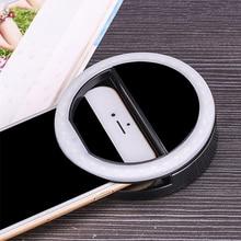 Flash-Light Selfie-Lamp Led-Camera Phone Clip-On Enhancing-Up
