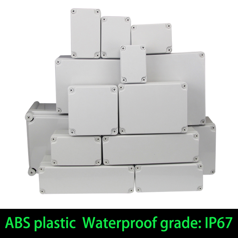 Case Enclosure-Box Housing Electrical-Project-Box Ip67-Project-Instrument Plastic Waterproof