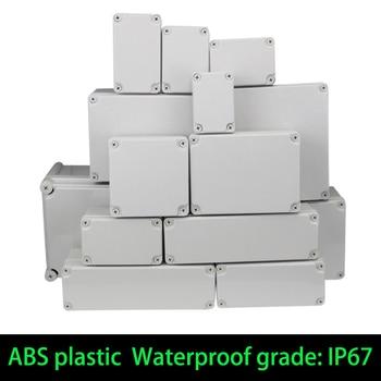 Caja de plástico para instrumentos eléctricos, baúl electrónico de empalmes ABS a prueba de agua IP67, perfecto para herramientas de cableado, compatible para exteriores 1