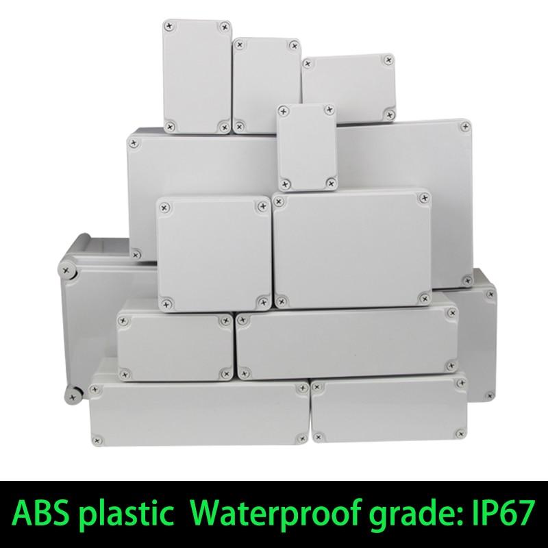 Водонепроницаемый пластиковый корпус, электронный корпус ip67, чехол для инструмента, Электрический корпус, корпус из АБС-пластика для наруж...
