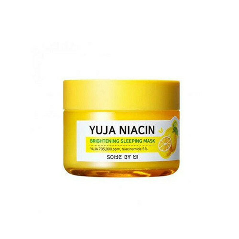 SOME BY MI Yuja Niacin Brightening Sleeping Mask Facial Whitening Freckle Cream Face Mask Acne Spots Melanin Blackhead Remove