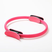 Yoga Ring Pilates Magic Cycle Pilates Roller Fitness monitor huan Yoga Roller Clamp Ring Resistance Ring(China)