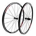 MEROCA MX23 колесо для дорожного байка набор V/C Тормозной прямой Pull 700C велосипедный передний 20 задний 24 Отверстия 4 колесные диски