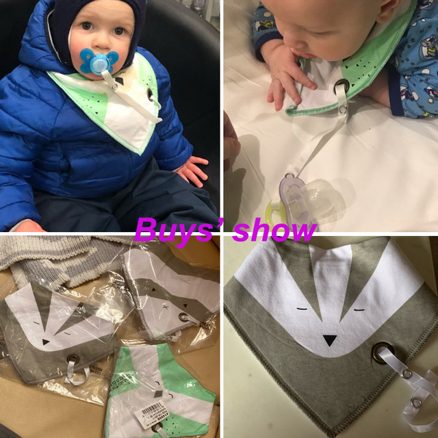 Baby Bib with Pacifier 6