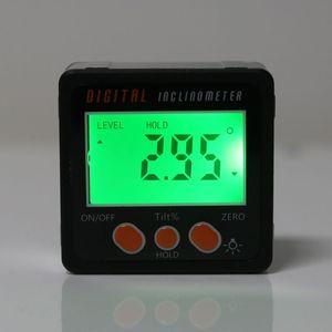 Image 4 - דיגיטלי Inclinometer אלקטרוני מד זווית אלומיניום סגסוגת מעטפת פוע תיבת זווית מד מד מדידת כלי