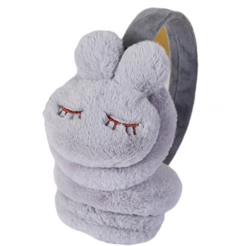 Cute Winter Warm Earmuffs Girls Plush Rabbit Earcap Kids Ear Cover Protector