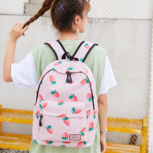 New Fashion School Bags for Teenagers Girls with Cute Pattern Oxford Waterproof Women Backpack Lightweight Travel Bag Mochilas