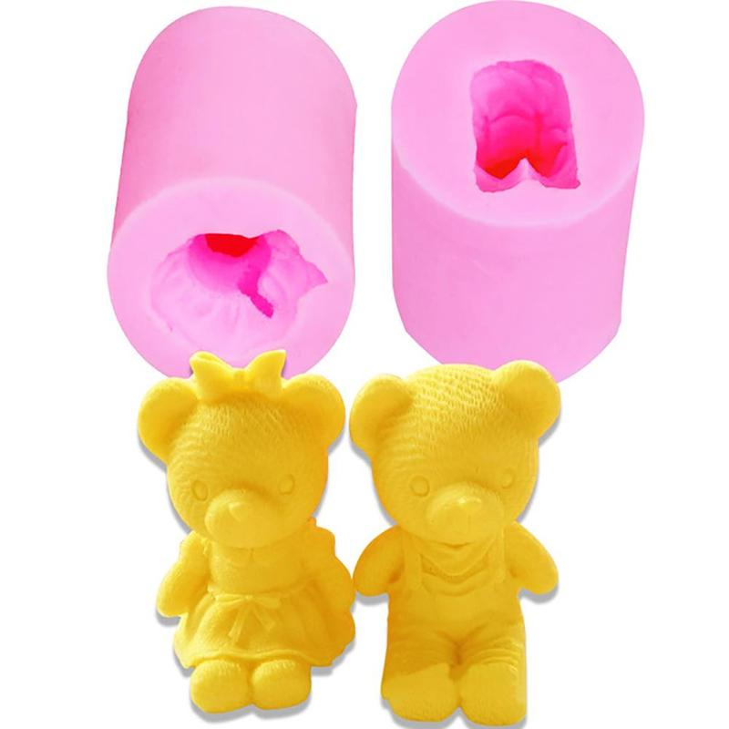 Couple Bear Mold Baking Cake Decorating Tools Baking Accessories Baking Tools For Cakes Baking Mold