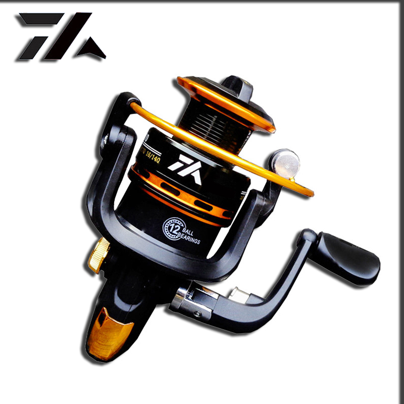 Brand High Quality Fishing Reel Metal Spool Zinc Alloy Gear Spinning Reel Carp Fishing Reels For Fishing Fishing Gear